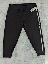 DKNY Sz 3XL Sport Plus Women Sweatpant Fitness Jogger Pants Cotton Polyester NWT