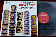 HMV ASD 3309 SHOSTAKOVICH THE GADFLY LP KHACHATURIAN EX NOT FOR SALE