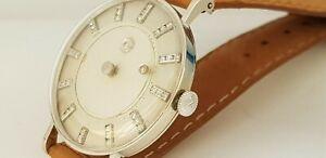 14K White Gold Vacheron Constantin Jaeger LeCoultre Galaxy Mystery Diamond Dial