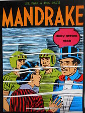 MANDRAKE Daily Strips 1960 Lee Falk Phil Davis ed. Comic Art 1983  [G324]