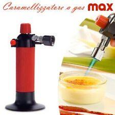 Bruciatore da cucina a gas Caramellizzatore Crema Cannello Creme Catalana A30037