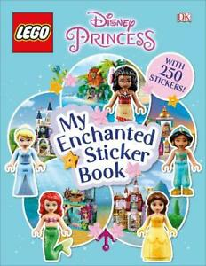 LEGO Disney Princess My Enchanted Sticker Book, DK, New,