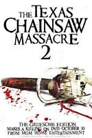 """THE TEXAS CHAINSAW MASSACRE 2 Poster [Licensed-NEW-USA] 27x40"""" Theater Size"""