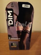 Dim stay up Stockings 1 pack ultra sheer, black.