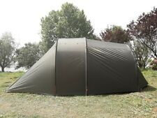 Waterproof Olive Green 2 Person Camping Tent with Motorcycle Storage Room