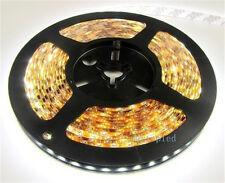 12V 5M 300LED SMD3528 Flexible Warm Cool White Fairy Strip Light For Party Decor
