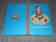 DDR Kinderbuch Das tapfere Schneiderlein Bastelbuch 1972 Beschäftigungsbuch