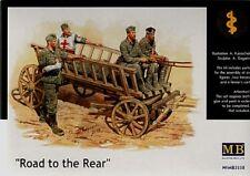 MASTER BOX 1/35 Road to the rear - Zweiter Weltkrieg medizinisch Wagen #3558 @