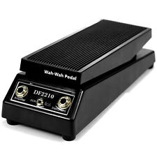 Wah-wah Sound Music Electric Guitar Effect FX Pedal Black Df2210 US