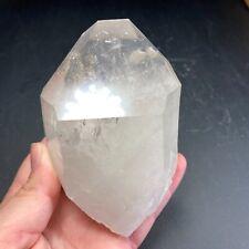 Clear Quartz Crystal Point | Adularia | Hamilton Hills | Arkansas