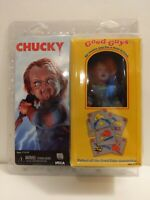 """Chucky – 8"""" SCALE Clothed Retro Style Action Figure - Chucky - NECA"""