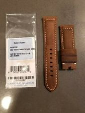 Panerai 24mm OEM Calf Assolutamente Dark Brown for 22mm Tang Buckle MX006ZBZ