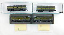 Athearn HO F7 ABBA Units PRR Pennsylvania Railroad (PWR & DMY) ~ Good,   H05