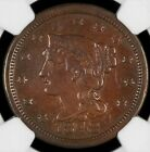 1848 Braided Hair Large Cent NGC VF35 N-20 - Nice Color - Free Shipping!