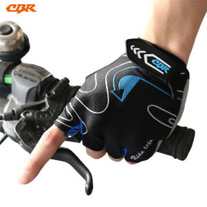 Cycling  silicone half-finger gloves moisture wicking breathable sports gloves