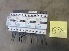Lot of 4 Siemens Sirius Circuit Breakers 3RV1011-1KA10 FREE SHIPPING a