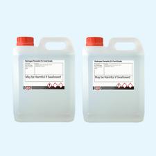 Calidad alimentaria el peróxido de hidrógeno 3% 2 X 5 litros (10L) ** alta Calidad **