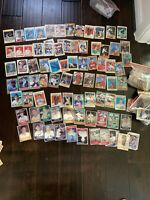 HUGE 1980s & 1990s BASEBALL LOT 500+ Some All Star, Rookie Cards Good Conditions