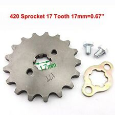 420 17T 17mm Chain Front Sprocket For Motorcycle Dirt Pit bike Coolsport Kazuma