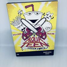 AQUA TEEN HUNGER FORCE Volume Three DVD REGION 4  Rare OOP Very Good Condition