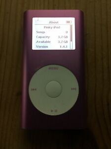Apple iPod Mini 2nd generation pink 4GB A1051 2005