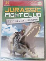 JURASSIC FIGHT CLUB all'ultimo sangue  DVD film documentario  nuovo