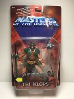 NEW TRI-KLOPS MASTERS OF THE UNIVERSE 200X 2002 MOTU VILLIAN ACTION FIGURE! a66