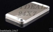 Slim Ultra-Thin 0.3mm Transparent TPU Silicon Case Cover for iPhone 5 5S 5G