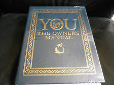 Easton Press - YOU THE OWNER'S MANUAL - Dr. Oz and M. Roizen - Leather Sealed
