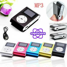 Mp3 Player USB Mini Clip MP3 Player LCD Screen Support Micro SD TF Card Walkman