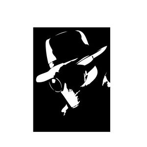 The Invisible Man vinyl decal sticker H. G. Wells Horror Classic Movie Monster