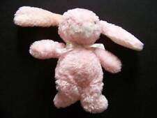 BABY CONNECTION Pink Bunny Plush Rattle Rabbit Bees Bow