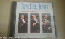 CD--THREE GREAT TENORS-DOMINGO-CARRERAS-PAVAROTTI--ALBUM
