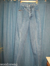 Blaze Jeans Size 3/25 Western look Cowgirl Rodeo 100% cotton Inseam 33