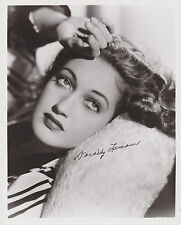 SIGNED DOROTHY LAMOUR 8X10 PHOTO - FROM HER PERSONAL COLLECTION!