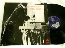 PAUL BLEY Improvisie Annette Peacock Han Bennink FRANCE America 6121 LP