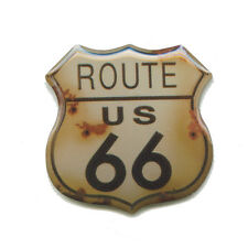 route 66 USA Mainstreet Mother Road Nostalgie Retro edel Pin Anstecker 0594