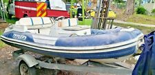 10' Nautica Inflatable Jet boat Tender W/ Trailer Yamaha Motor Lien Project