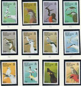 British Indian Ocean Terr. 1990 Birds set fine fresh MNH