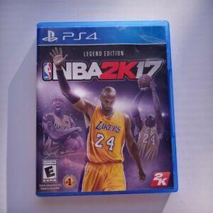 NBA 2K17 - Legend Edition Kobe Bryant (Sony PlayStation 4 PS4 , 2017) CIB/Tested