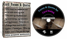 5999 Verses And Quotes For Cards And Craft Projects VOL 1-2-3-4 + Decoupage