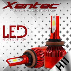 XENTEC 2X H11 388W 38800LM LED Headlight Bulb HI/LO Beam H8 H9 Kit