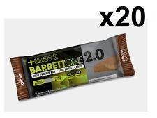 +WATT Lot de 20 Barre énergétique BARRETTONE 2.0 barre protéine Cacao sport /U4