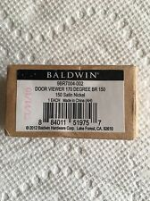 Baldwin 9BR7004-002 Satin Nickel Observascope NEW