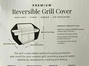 Heavy Duty X-Large Reversible Premium  BBQ/Barbecue Grill Covers