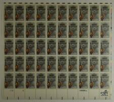 US SCOTT 2096 PANE OF 50 SMOKEY THE BEAR STAMPS 20 CENT FACE MNH