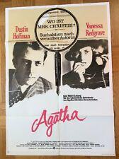 Agatha (Kinoplakat '79) - Vanessa Redgrave / Dustin Hoffman