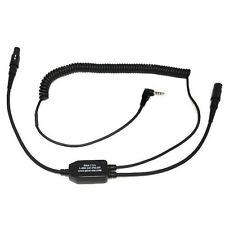 PilotUSA iPhone Digital Audio Recorder Bose(6 Pin Lemo)Headset Adapter PA-80B/iP