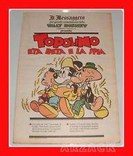 TOPOLINO supplemento IL MESSAGGERO Eta Beta e La spia 7/4/1990