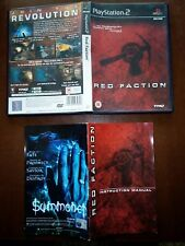 Red faction join the Revolution ps2 pal uk PlayStation 2